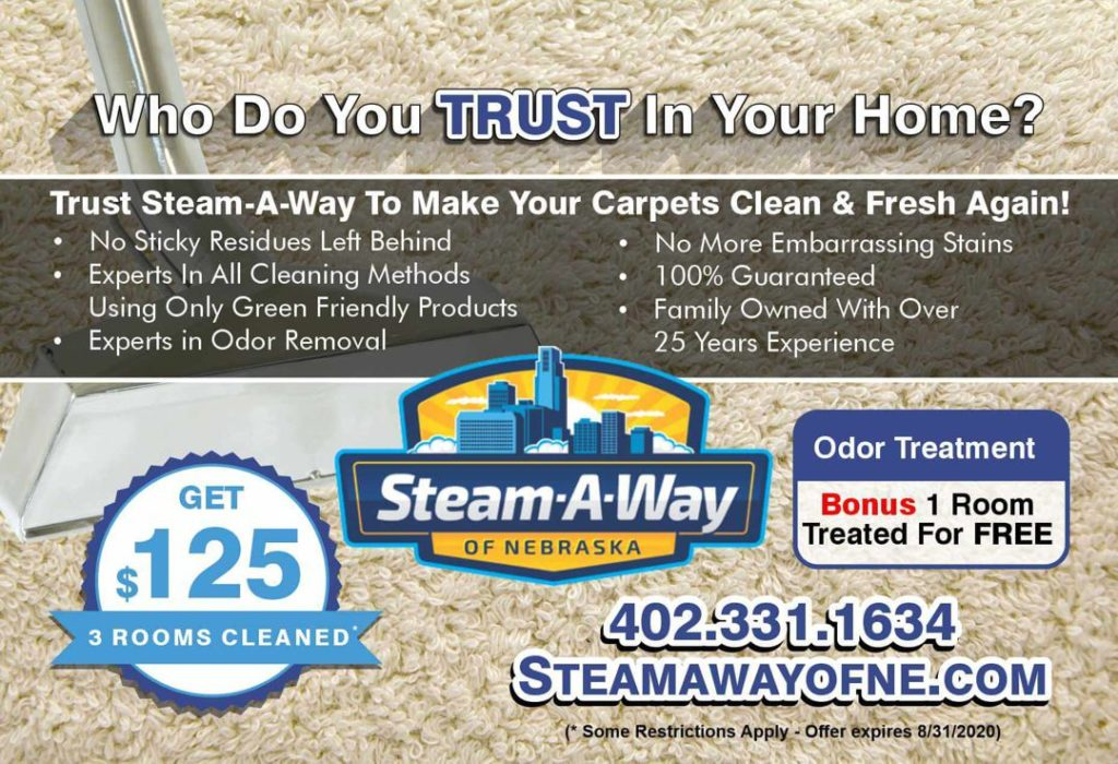 Steam-A-Way August Offer 07302020